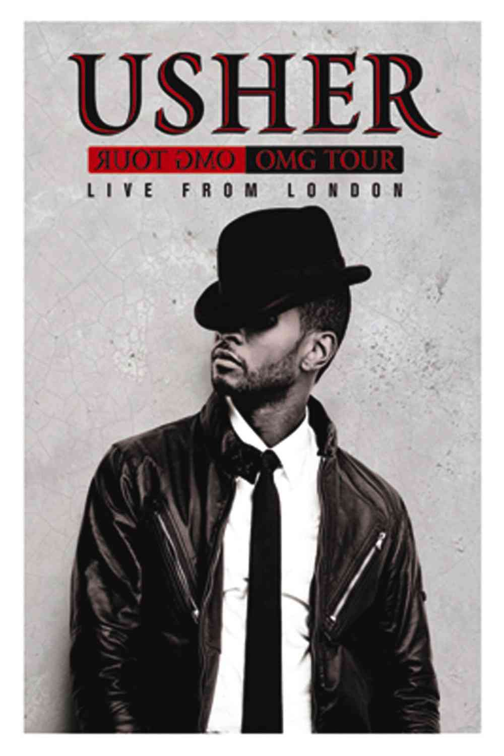 OMG TOUR:LIVE FROM LONDON BY USHER (DVD)
